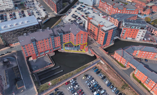 * Highly popular up and coming Piccadilly Basin location  * Close proximity to Piccadilly Train Station  * Fast developing area of the City  * Suitable for a wide range of uses (subject to planning)  * Fantastic canal side views  The property compris...