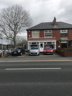 The subject property is arranged over three levels including basement, ground and first floor.  The ground floor has previously been occupied as a mortgage advisors and is of a rectangular shape with a large display window fronting Chorley Old Road....