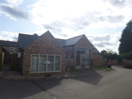 Modern office development of refurbished former farm buildings and new build close to Junction 13 of the...
