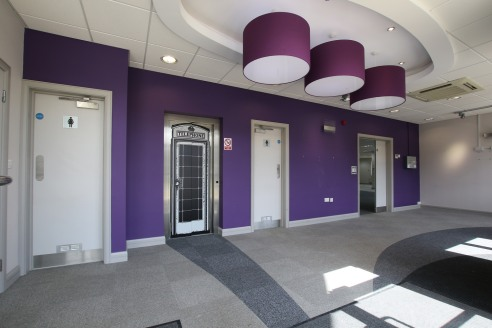 Woodland Park is a modern development of 2-storey office buildings in an attractive heavily landscaped setting.   Summit House forms part of the Woodland Park development and provides high quality office accommodation in a prestigious headquarters-st...
