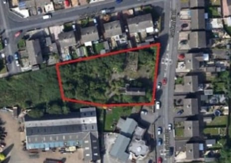 A level parcel of land with frontage to Goldenhill Road extending to 0.42 acres, suitable for residential development, subject to planning.