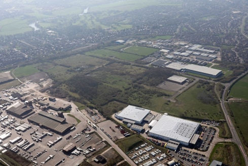 The site comprises a 64 acre Business Park with excellent links to the national and regional infrastructure network.   Plots of land are available for sale with the benefit of the existing infrastructure.   Design and build units are available from 1...