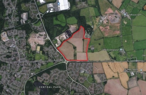 The property comprises a substantial development site with outline planning permission for residential development, subject to a Section 106 agreement with the Council. It is currently Greenfield land in agricultural use as arable farmland....