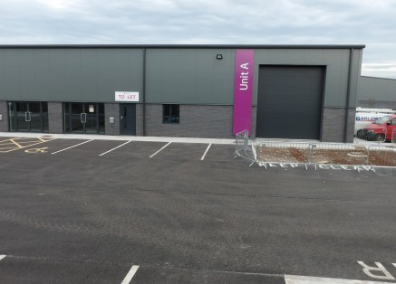 A New Trade Counter Unit with frontage to Bumpers Lane  Available for immediate occupation  Occupiers include M&S Hair & Beauty Supplies/Capital Hair & Beauty Group  4,185 sq ft   Rental - On Application
