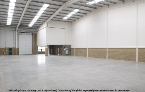The property comprises two, soon to be refurbished, modern terraced industrial / warehouse units of steel portal frame construction with integral first floor offices to the front elevation of each building with potential to extend at ground floor lev...