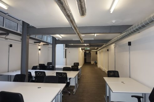 Available immediately Shoreditch - Entire building to rent or the ground and lower ground floor could be let separately and upper floors could be let together or as individually floors....