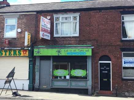 Single lock-up shop unit on main road close to the town centre pedestrian precinct in Farnworth, a prominent main road location. Nearby occupiers include travel agent - Thomas Cook, betting shops - BetFred and William Hills, as well as local retailer...