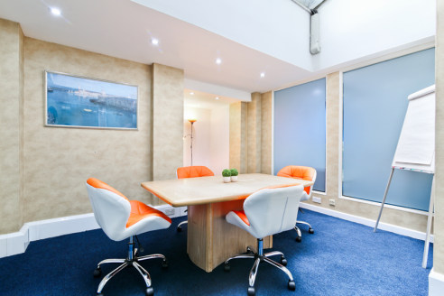 12,930 Sq Ft This purpose built office building is set over basement, ground and first- fourth floors. The most recent use, has primarily been as serviced offices and the fit out reflects this with cellular rooms. However the majority of internal wal...