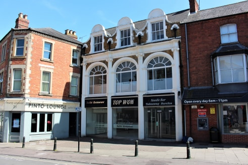 22 High Street, Banbury provides an imposing building situated in a good retail position within Banbury Town Centre adjacent to the pedestrianized area of the High Street and is neighbouring Tesco Express, Pinto Lounge Bar and Matthew Grant Hairdress...