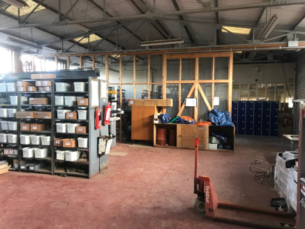 Warehouse, Offices & Yard on a site of 1.25 Acres.  Available in whole or in part.  To Let  Rental - On Application  6,482 sq ft