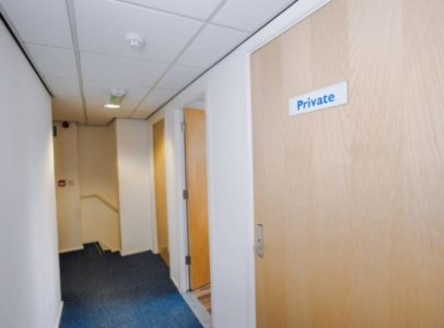 A refurbished first and second floor office suite that comprises a large attractive open plan main office which has the benefit of good natural light. There are also two good sized private offices and male and female WC facilities....