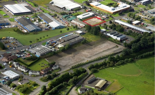 Industrial Development Site Extending to 0.63 acres (0.25 hectares) Within A Bustling Industrial Estate