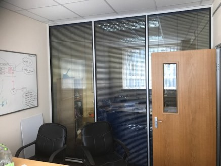 Ground floor office suite plus 2 parking spaces