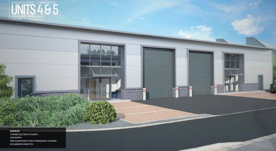 Brand new and purpose-built for commercial use this unit is a single storey industrial building. This unit will be finished to a shell standard including a fire alarm and emergency lighting system to allow the customer or end user to carry out intern...