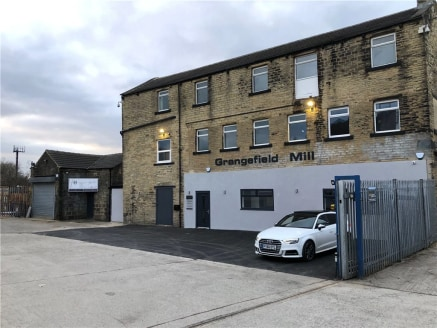 Summary  Three Storey Detached Stone Mill Building  Flexible Lease Terms available  Modern Refurbished and Unrefurbished Accommodation Available  Suitable for a variety of uses  • Secure Gated Parking / Yard  Description  The subject accommodat...