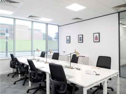 Serviced offices in Liverpool, Derby Square.  This refurbished office building offers plush accommodation near the Queen Elizabeth II Law Courts, so it would be ideal for legal firms.