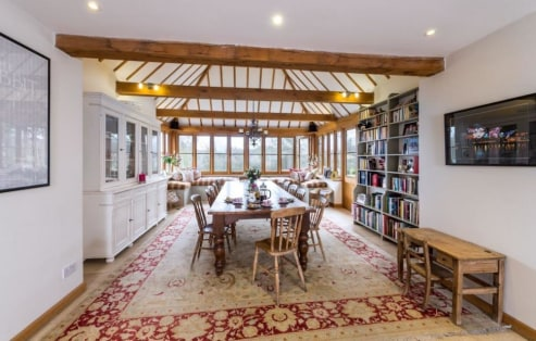 Nestled at the end of a long, tree-lined driveway, in a rural position, this charming and beautifully presented timber-framed Sussex Farmhouse dates back in part to the 16th Century. Sympathetically and extensively renovated to a high standard, the p...