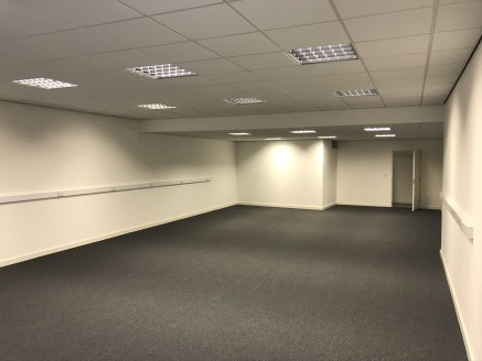 The property comprises three self-contained ground floor office units. Each of the office units are fitted with carpeted floors, suspended ceiling with category 2 lighting, perimeter trunking and plastered and painted walls. There are shared WC facil...