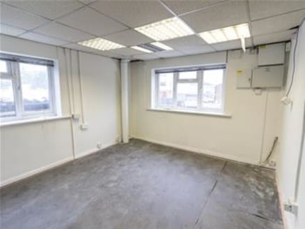 The refurbished property comprises open plan industrial/warehouse unit of steel portal frame to a pitched roof with office accommodation arranged over ground and first floor to the front of the unit. Access to the workshop is available via a self con...