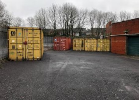 Available immediately Lock up storage containers in secure gated compound available on short term lets...