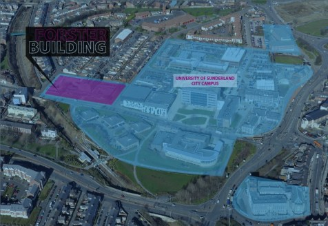 The site includes Forster Building which was constructed in 1975 and is formed over four storeys. Also, along the western elevation of the site there is a large tarmac car park which is bounded by steel palisade fence. The property formerly provided...
