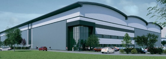 Magnitude Will Be Developed To Grade A Specification For Distribution Manufacturing  On a site of 450 Acres.  90,000 sq ft to 600,000 sq ft  £5.95 per sq ft leasehold  £95 per sq ft freehold