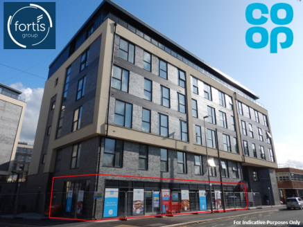 The property will comprise a self-contained ground floor retail unit within a new apartment block of 220 residential units.  The unit is currently being fit out to the Co-operative Group Food Limited's corporate style and will provide their convenien...