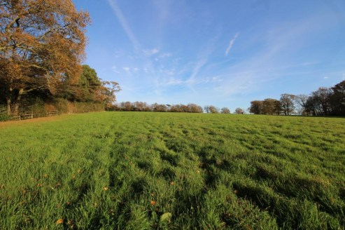 A single block of sloping pasture land enclosed by mature hedgerows. In all about 8.77 acres (3.55 hectares).