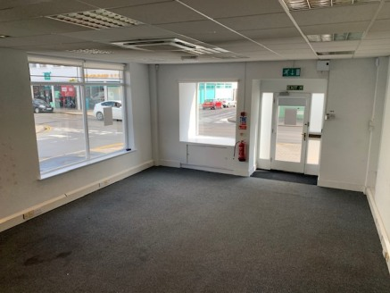 Ground Floor lock up shop totaling 1,116 sq ft with return frontage. Formally A2 Unit