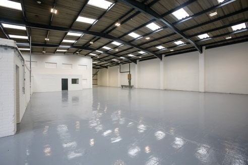 Prominent industrial / warehouse / trade counter estate. Close proximity to Media City and Manchester City Centre with excellent motorway access. Prime location within Trafford Park. Recently refurbished units. Integral offices. Electrically operated...