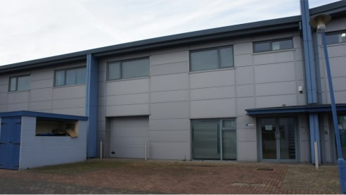 Ergo Business Park is located close to both Junctions 15 and 16 of the M4 motorway. The units occupy a prominent location on Greenbridge Road, in the heart of the Swindon business district.