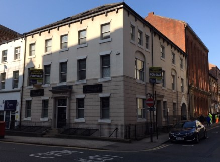 Kilkenny House is situated at the corner of King Street and York Place immediately opposite The Metropole Hotel, within the heart of the professional and business sector of Leeds City Centre.