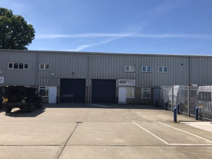 The unit is a modern starter unit with separate pedestrian access and goods/loading door. The unit also has internal offices and three allocated car parking spaces.