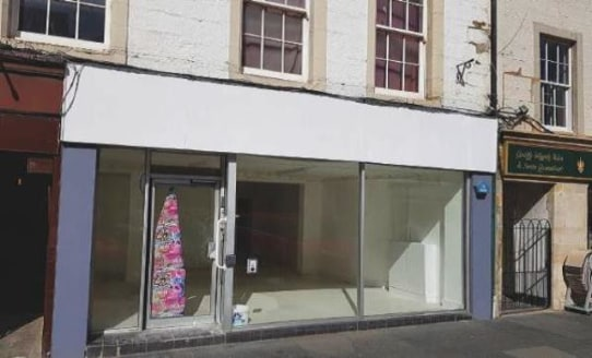 shop Premises in Prime Town Centre Location with Potential for Class 3 Use