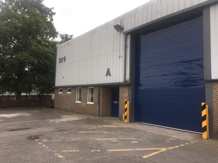 Fully refurbished in 2019 to a high specification.   The property is a semi-detached industrial warehouse of steel portal framed construction with walls of brick /blockwork to dado level with insulated steel cladding to the eaves. The roof is of insu...
