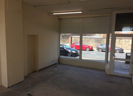 **1/3 Rates discount may be applicable on retail premises as of April 2019, subject to qualification**  The premise briefly comprises a ground level single storey retail unit situated on King Cross Road on the outskirts of Halifax Town Centre.  The p...