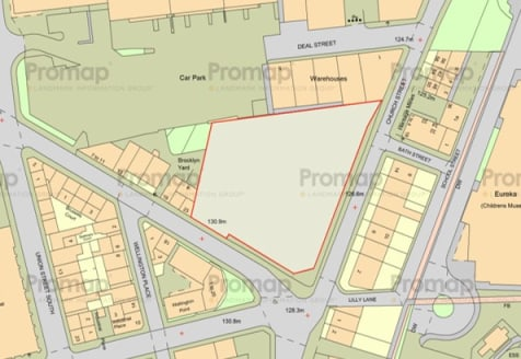 Land with potential for development offered on a For Sale or To Let basis.  Currently used as car parking the land offers potential for a variety of development options subject to the relevant planning permissions. Ideally located within sight of Hal...