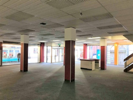 The accommodation comprises an open plan retail unit with extensive glazed frontage to the pedestrianised mall within York Place Shopping Centre, an established retail arcade within Newcastle under Lyme town centre.