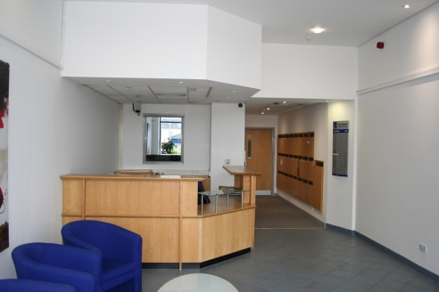 The Southgate Business Centre is a modern purpose built office building.   The ground floor provides a reception area, manager's office and tenants individual post boxes.   The first and second floors provide a range of 17 office suites with shared W...