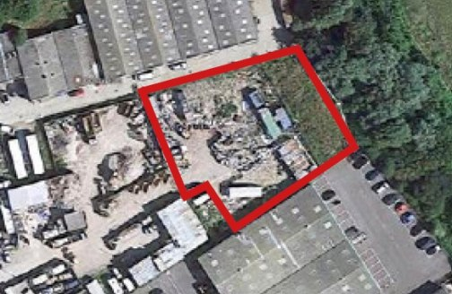 Secure Open Site 0.51 acres approx  Suit Open Storage, Vehicle Depot (s.t.p)  TO LET