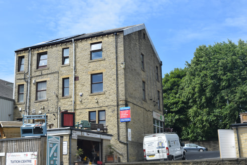 Location  The offices are situated in a prominent position at King Cross directly opposite the Tesco supermarket. King Cross is a busy suburban retail centre of Halifax which is located approximately 1 mile from the Town Centre.  Description  The pre...