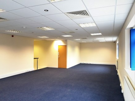 8 The Courtyard is situated on Harris Business Park. 1002 sq ft first floor offices with allocated car parking. Refurbished kitchen and wc facilities
