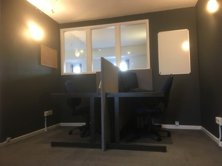 OPEN PLAN OFFICE  SELF CONTAINED  DESCRIPTION  A first & second floor office premise offering well presented open plan accommodation with intercom access, electric heating, kitchen and toilet facility. The offices benefit from one allocated parking s...