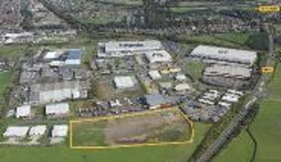 Prime industrial development land of 10.95 acres with planning consent in place for 180,000 sq. ft.