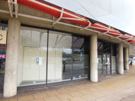 A ground floor retail/office unit with full height glazed frontage and glazed canopy and a separate rear exit into the Kingsmead Shopping Centre.<br><br>The existing fit out includes: partially glazed partitioning along the left flank incorporating t...