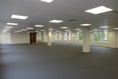 The property provides newly referbished open-plan office accommodation together with excellent on-site parking. The building benefits from a bright and newly refurbished reception area as well as recently refurbished and decorated WC's.