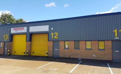 Newly Refurbished Industrial/Warehouse Unit in Poole – Unit 12 Chantry Park Industrial Estate
