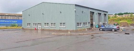 Large Secure Industrial Yard with Detached Industrial Warehouse