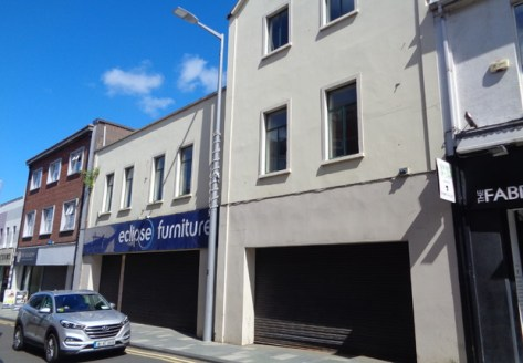 Prominent Three Storey Retail Unit of c.15,196 sq ft\n\nThe subject unit is located on Church Street in close proximity to the junction of Meetinghouse Lane. Neighbouring occupiers include Savers, Barnardos, McKillens, Wallace's and Franklins....