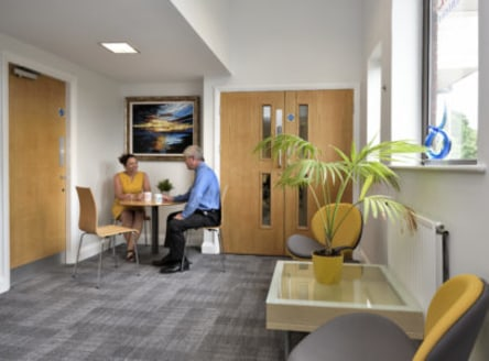 Thursby House is a modern office building with 20 serviced and professionally managed executive office suites, ranging from 100ft2 to 1500 ft2. The Business Centre hosts an impressive central reception area, meeting rooms, a private lounge and the la...